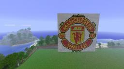 Manchester United logo Minecraft Map & Project