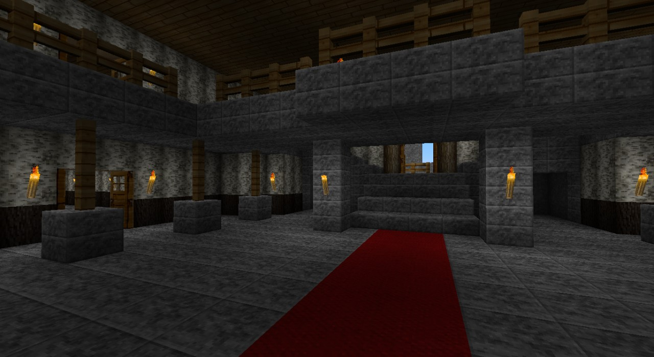 Resident Evil Arklay Mansion Minecraft Project