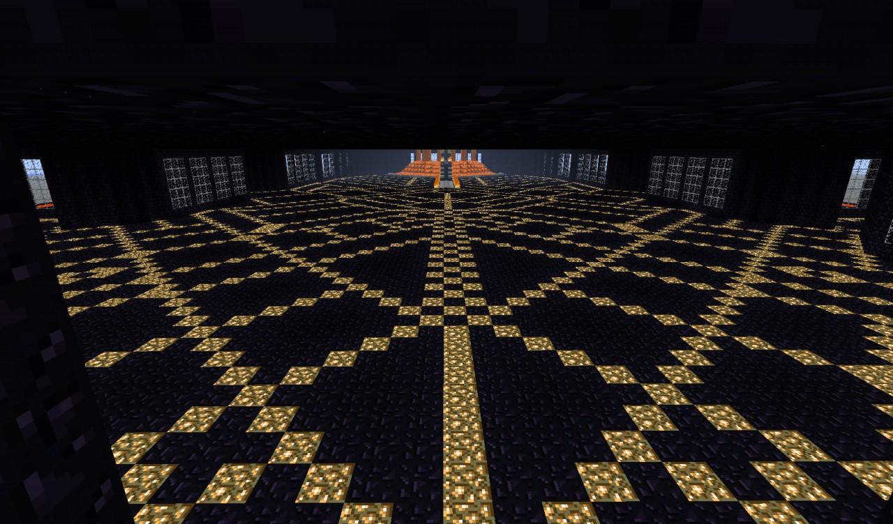 Obsidian houseMinecraft Obsidian House