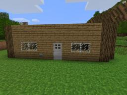 Simple Redstone AND door latch [LOCK] With nice house Minecraft Map & Project