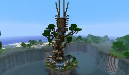 Melandru Inspired statue Minecraft Map & Project