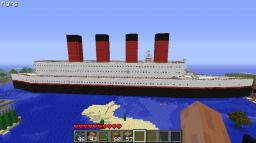 Titanic ca. 1:1 with Extras Minecraft Map & Project