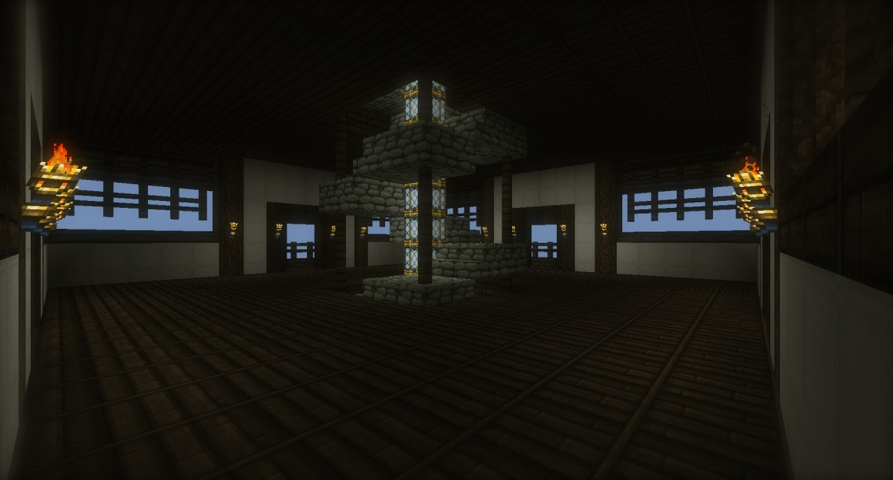 Japanese Styled Pagoda Minecraft Project