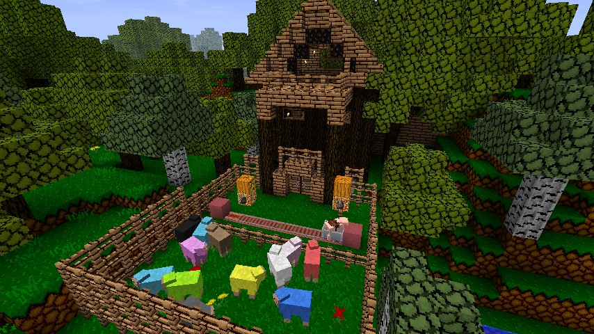 Lumber Jack S House Minecraft Project