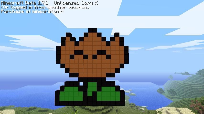 Flower To Build In Minecraft