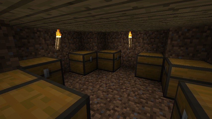 rustic cottage small basement minecraft project