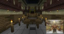 Phoenix Wright's Court Room Minecraft