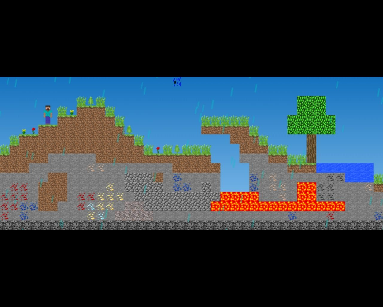 My Minecraft Classic-Like Game! (Work in progress) 2-D ...