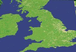 Great Britain - LandScape Schematic & World Save Minecraft Map & Project