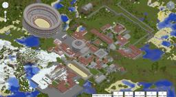 The City of Romecraft Minecraft Map & Project