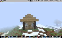 Basic LogHouse Minecraft Map & Project