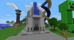 Library/Knowledge Center Minecraft Map & Project