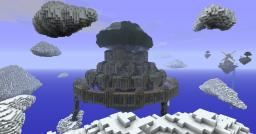 Laputa, Castle in the Sky / Wizard's Citadel Minecraft Map & Project