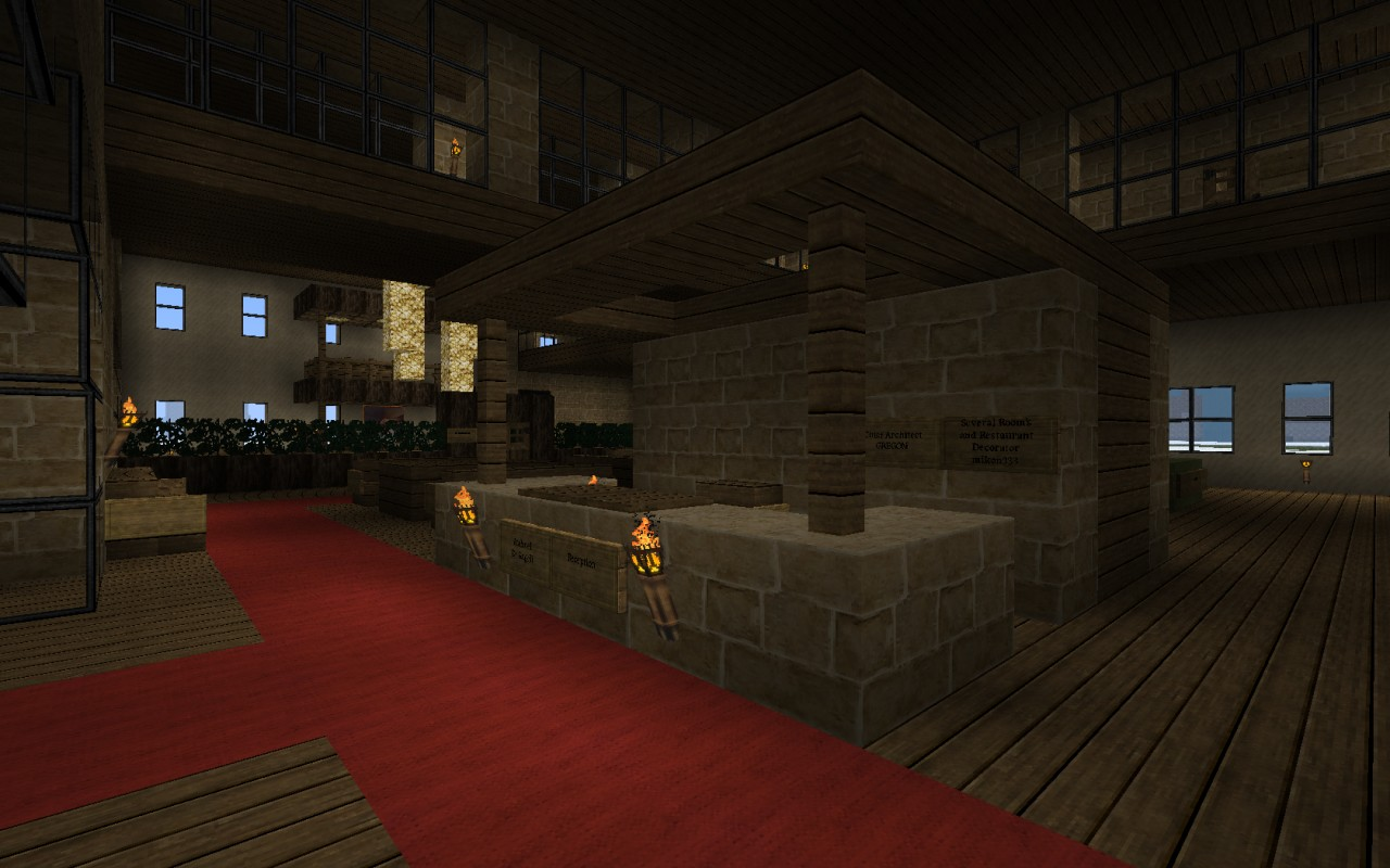 Hotel De Angeli Minecraft Project
