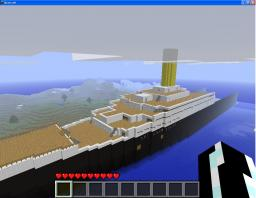 100% accesible TITANIC ( 1:1 Model) Minecraft Map & Project