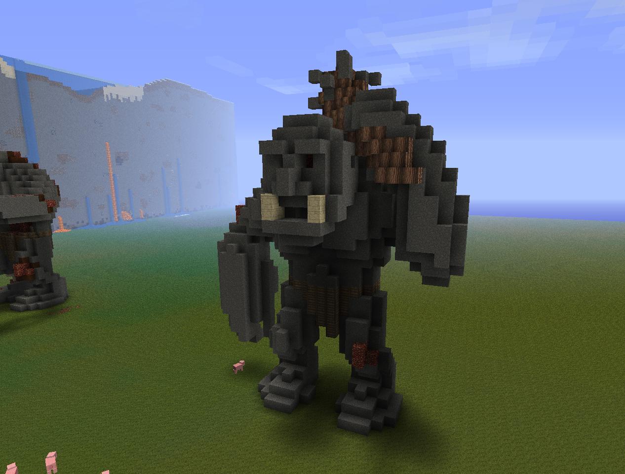 Creatures: Giant Trolls Minecraft Project