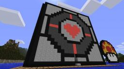 Giant companion cube Minecraft Map & Project