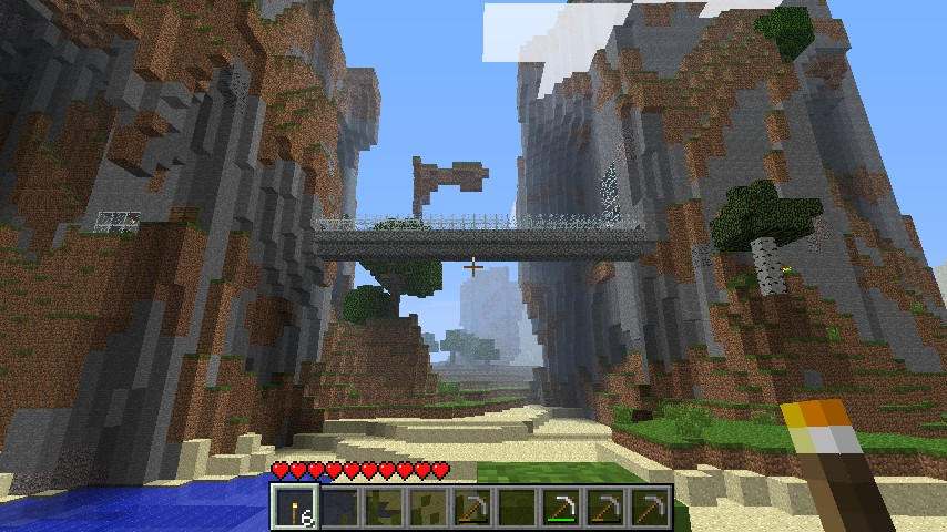 Mountain Base Minecraft Project - 151.9KB