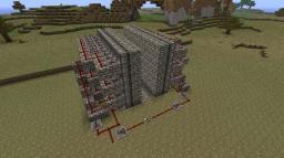 Piston Wall Minecraft Project