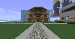 Zion's Town Spawn Minecraft Project
