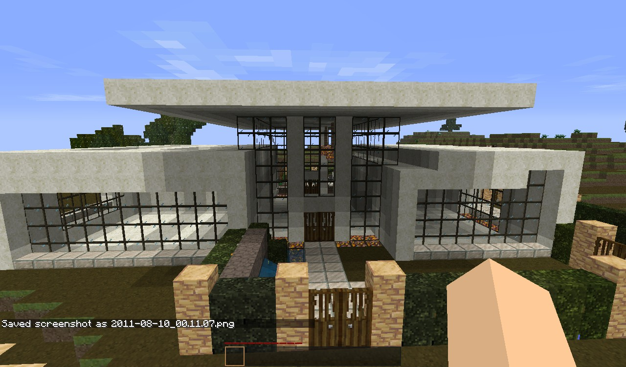 Cool minecraft house designs for Awesome home designs