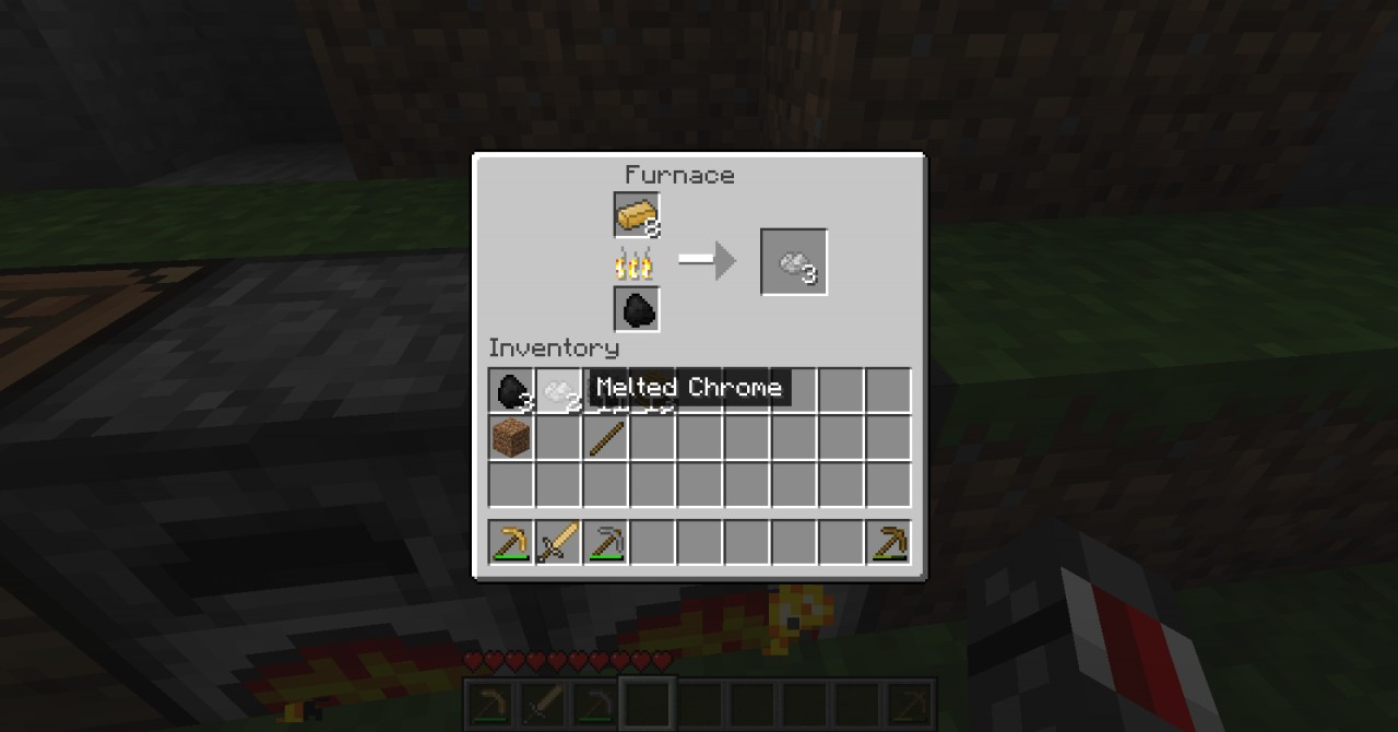 how to make shiny in minecraft