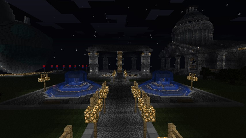 spawn and side of town hall