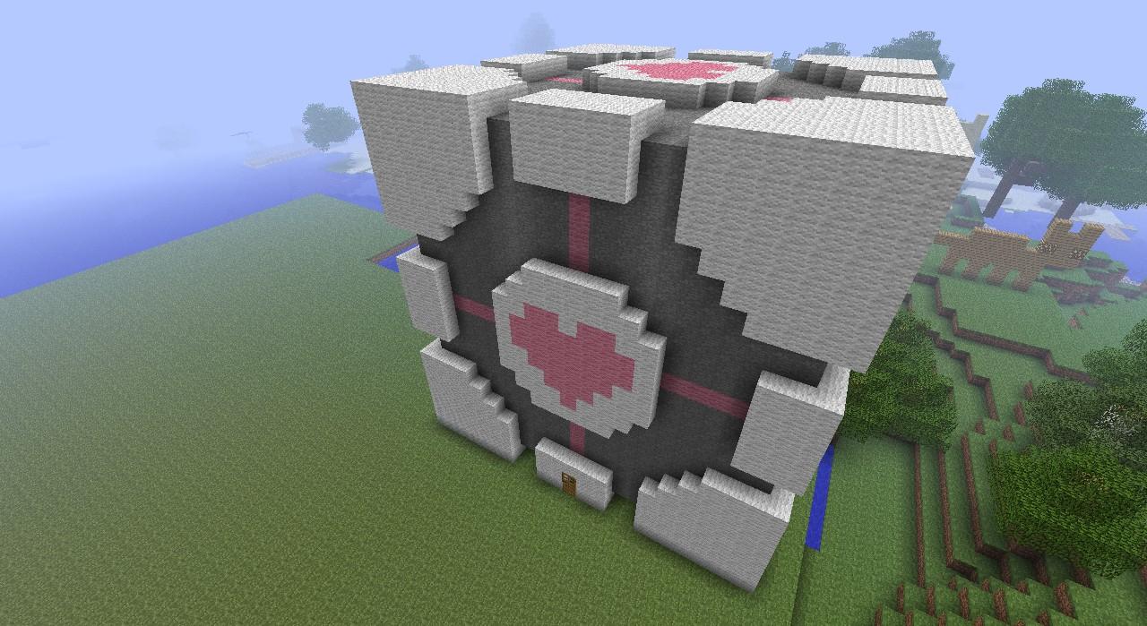 companion cube minecraft project