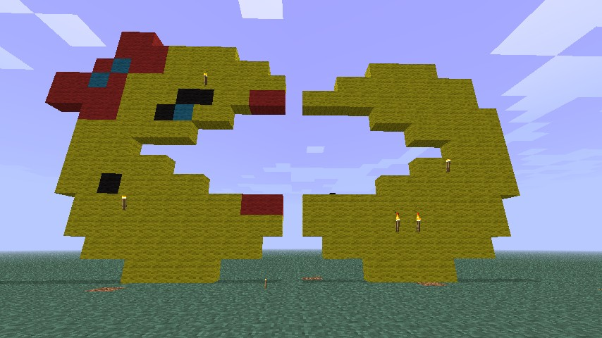 Pacman And Ms.pacman Minecraft Project