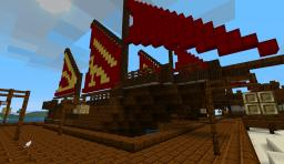 Japanese Harbor Minecraft Map & Project