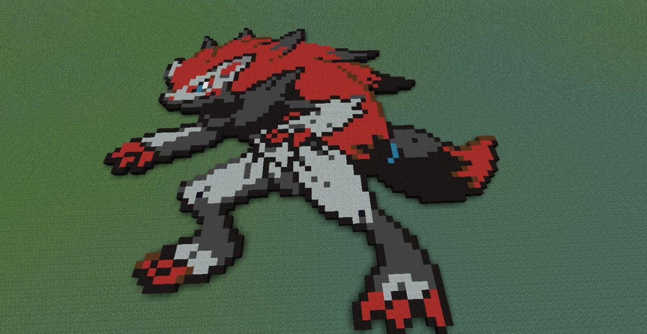 pixel art zoroark