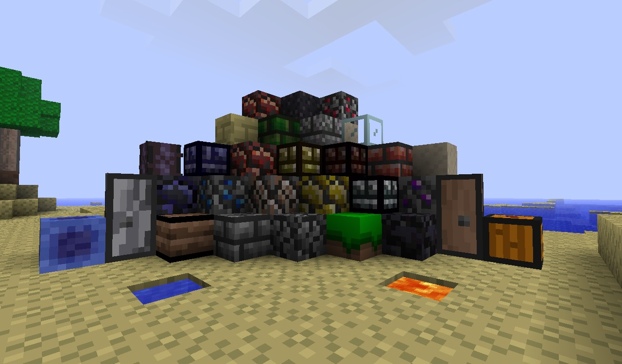 Terraria Texturepack (1 8) Minecraft Texture Pack