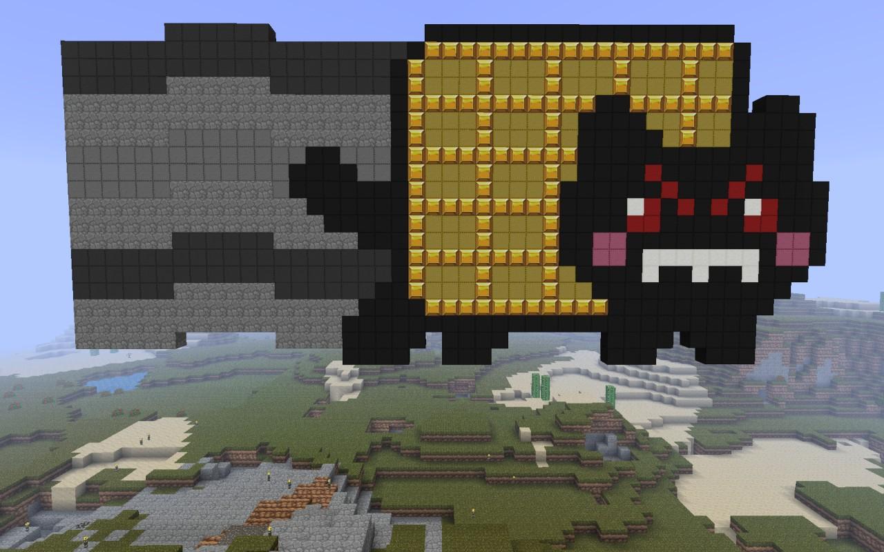 Evil Nyan Cat Minecraft | www.pixshark.com - Images ... Evil Nyan Cat Minecraft Grid
