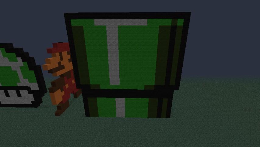mario pixel art  u0026 39  u0026 39 farm u0026 39  u0026 39  minecraft project