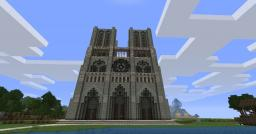 Notre Dame. Minecraft Map & Project