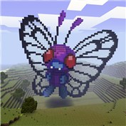 Pokemon butterfly Minecraft Map & Project
