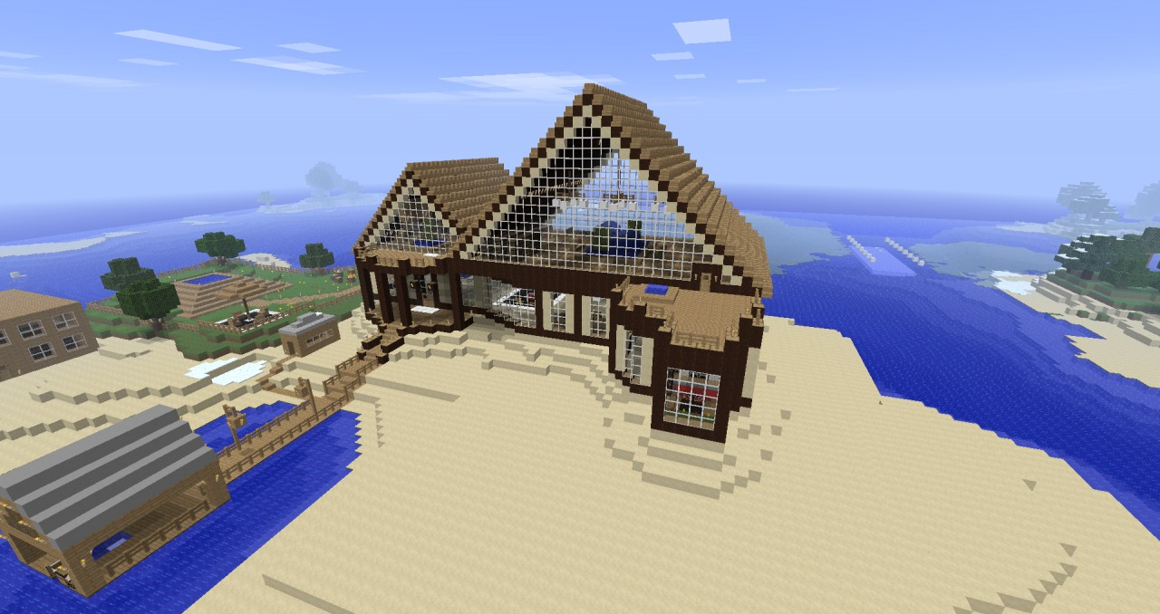 Epic Mansions Epic Mansion/base Minecraft