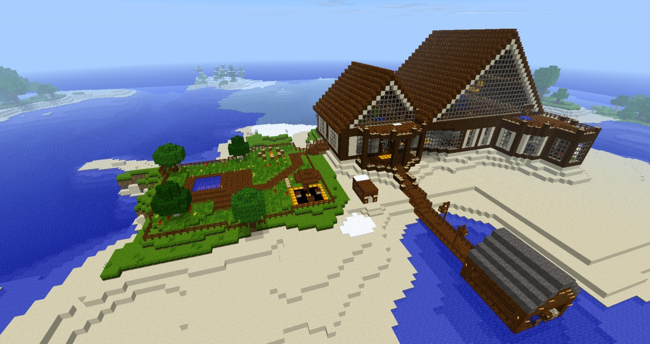 Epic Mansion/Base Minecraft Project