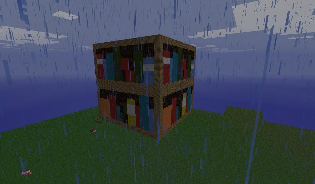Big Bookshelf Minecraft Project