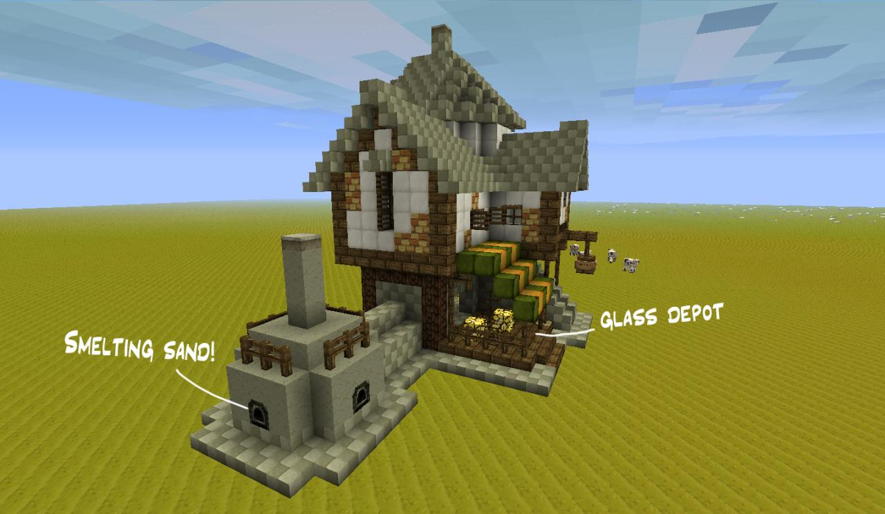 Cool Minecraft Buildings Medieval Buildings Rpg Style