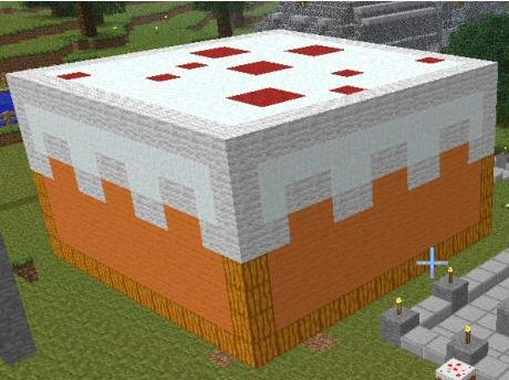 Giant Cake Minecraft Project