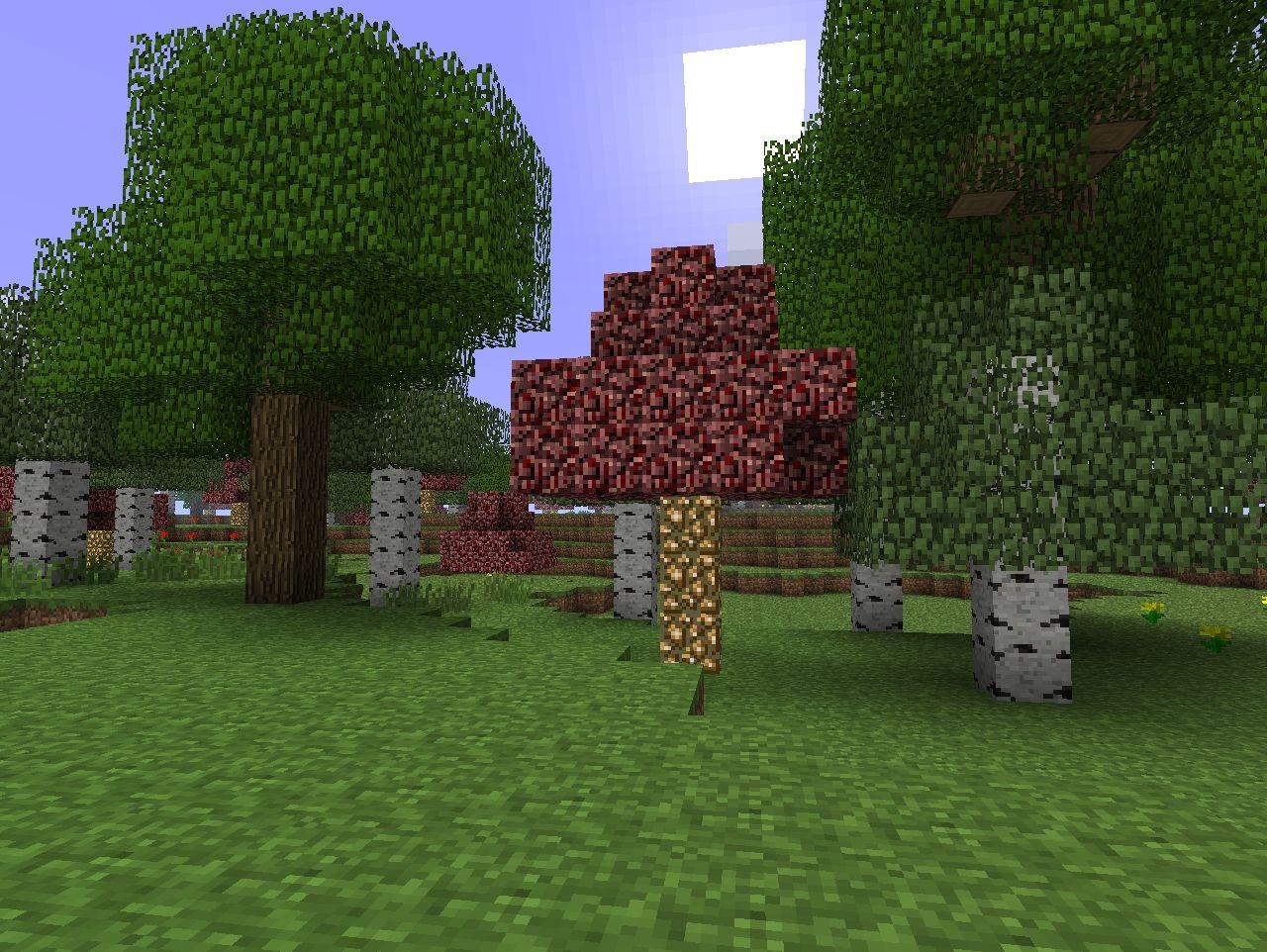 Nether Trees Minecraft Mod