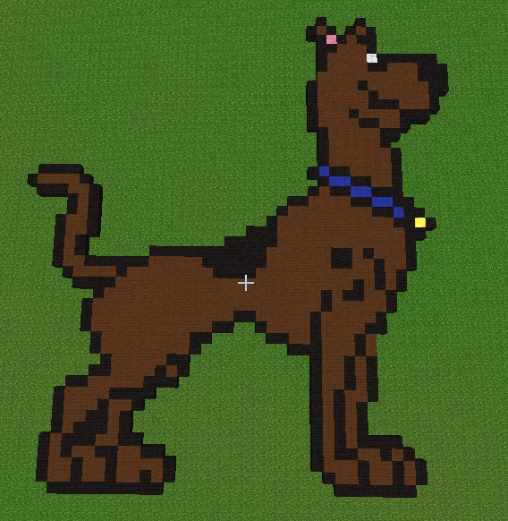 Scooby-Doo Minecraft Project