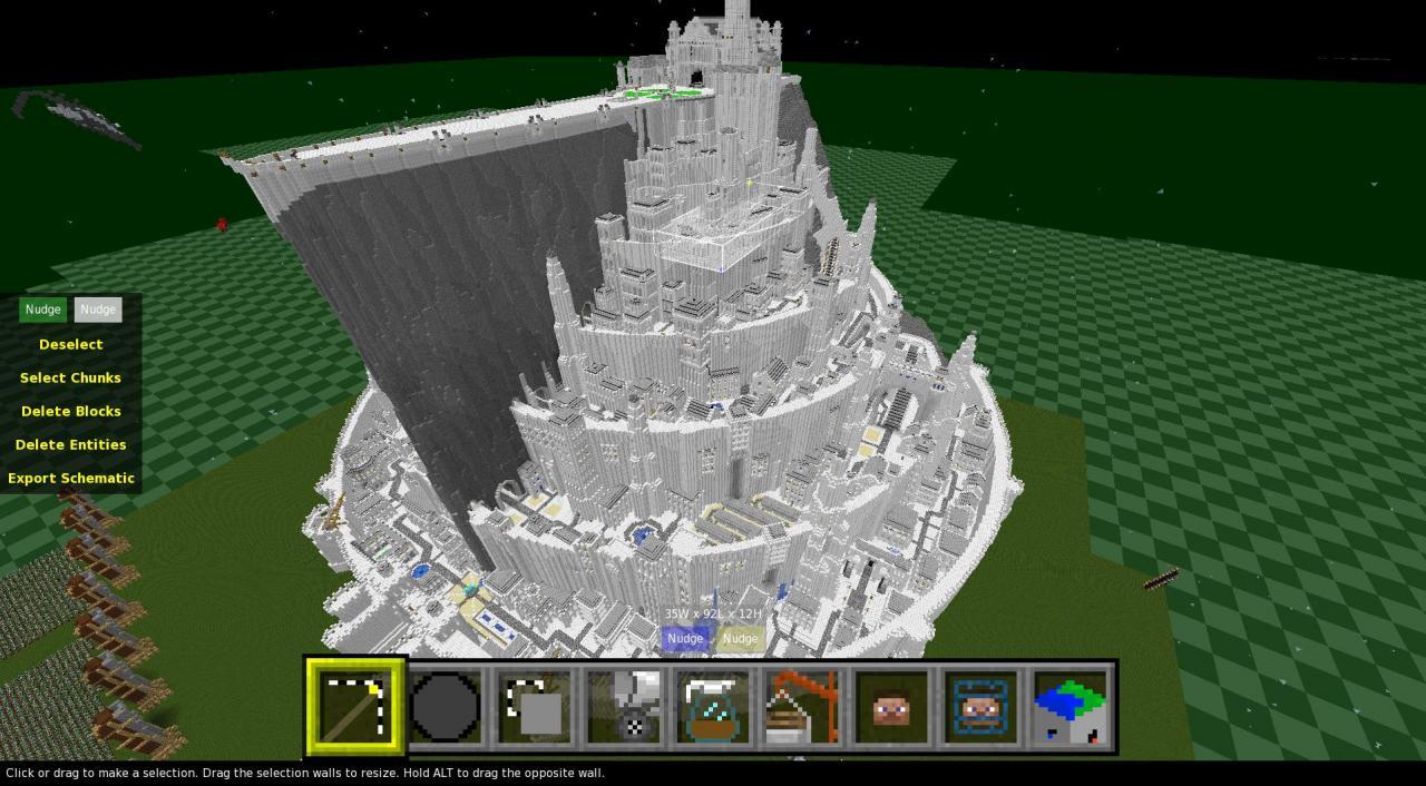 Minecraft Orthanc Sche...