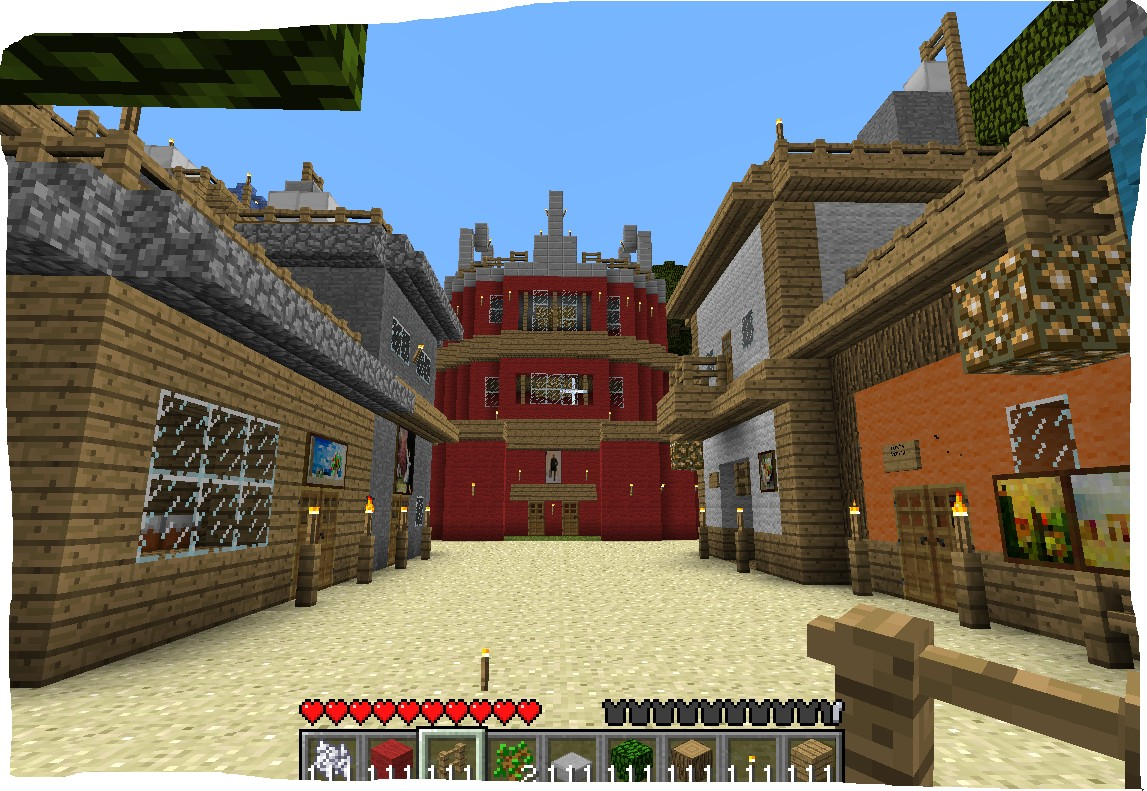 Images of Naruto Village Minecraft - #rock-cafe
