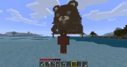 A Cute Bear for Children Minecraft Project