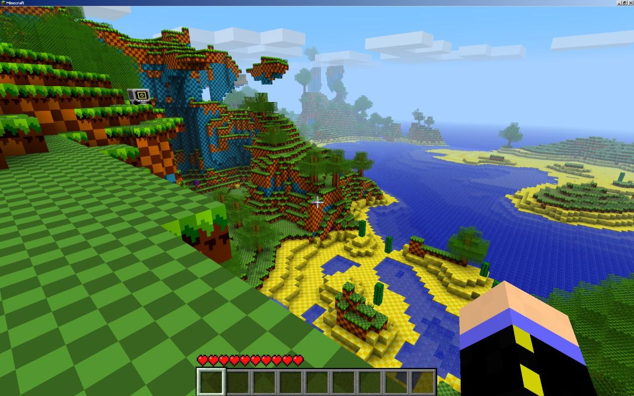 Sonic Minecraft!
