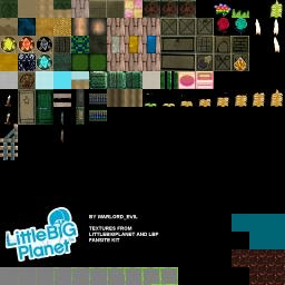 Little Big Planet Minecraft Texture Pack