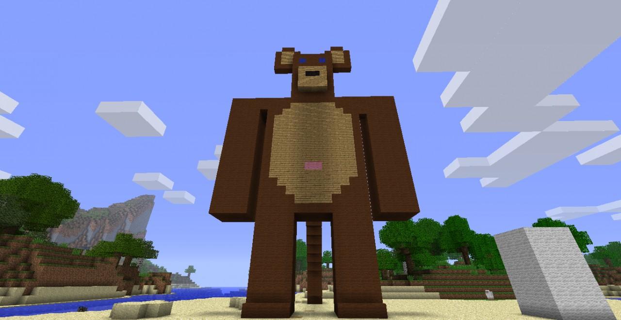 Monkey Minecraft Map