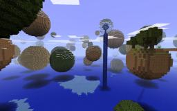 Planetoids (Water Under) Minecraft Map & Project